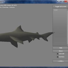 The Shark's DFF model.