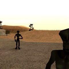 Aliens in Area 69.