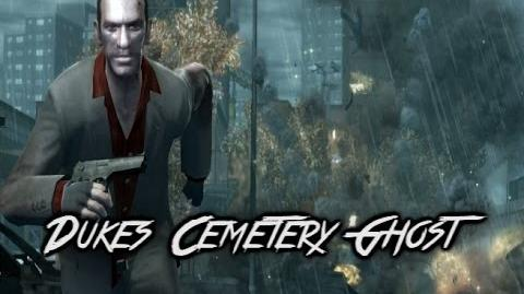GTA IV Myths & Legends - Myth 5 - Dukes Cemetery Ghost