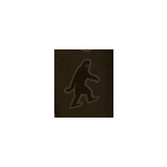Bigfoot sticker.