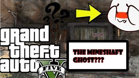 Grand theft Auto 5 Abandoned Mineshaft Ghost Myth