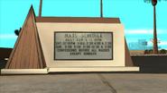 Blackfield Chapel Sign