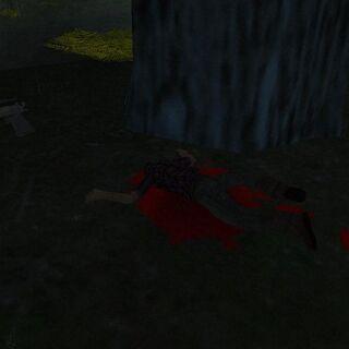 The killer dead.