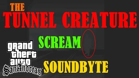 Tunnel Creature Scream Soundbyte
