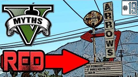 GTA 5 Myths & Legends Myth 19 Red Arrows (PART 1)