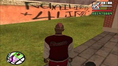 GTA SA Myth Ghostgraffiti