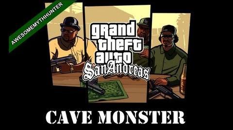 GTA San Andreas Myths & Legends -Cave Monster HD