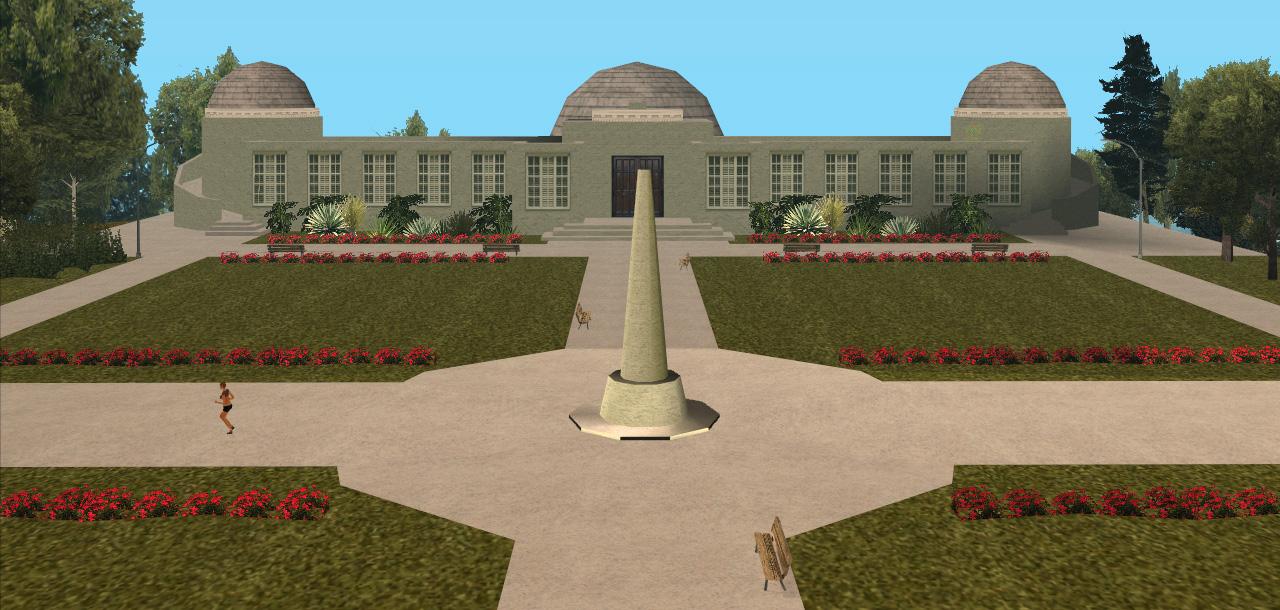 griffith observatory san andreas ile ilgili görsel sonucu