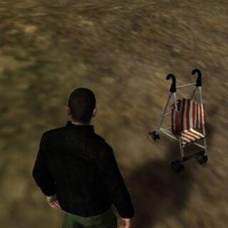 The Baby stroller in GTA IV.