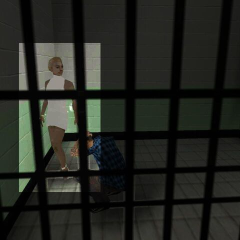 The woman in the Los Santos jail.