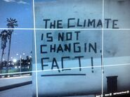 THE CLIMATE IS NOT CHANGIN FACT!!