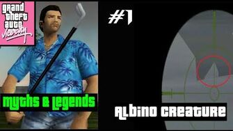 Albino Creature - GTA Vice City Myths and Legends