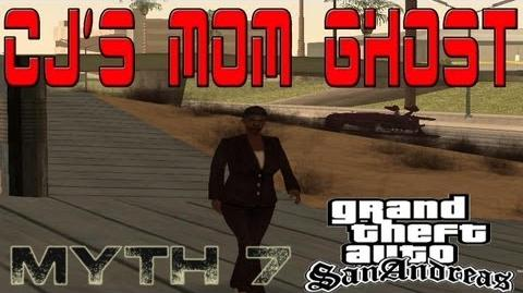 GTA San Andreas Myth 7- CJ's Mom's Ghost