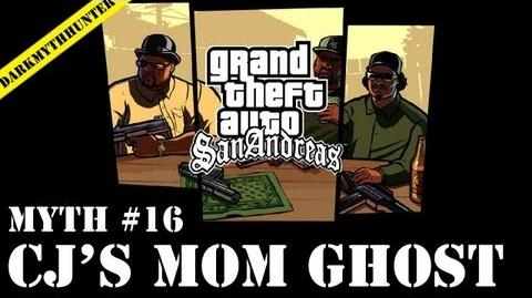 GTA San Andreas Myths & Legends - CJ's Mom Ghost HD-3