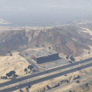 The equivalent to the desert building in <i>GTA V</i>.