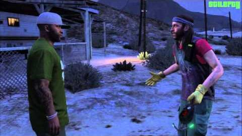 GTA 5 - PS3 - Strangers and Freaks Mission -22 - Far Out -100% - Gold Medal-