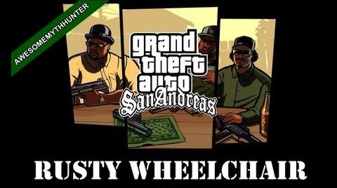 GTA San Andreas Myths Legends -Rusty Wheelchair HD