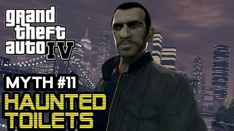 GTA IV Myths & Legends Haunted Toilets