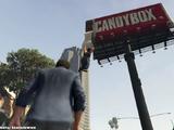 Hanging Man on the Billboard