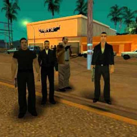 Mafia members in GTA San Andreas