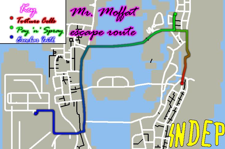 Moffat escape