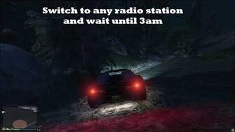 GTA V- Weird radio station message?