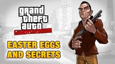 GTA Liberty City Stories - Easter Eggs and Secrets