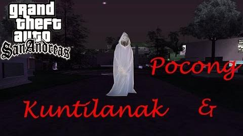 GTA San Andreas Myths and Legends-Myth 5 - Kuntilanak and Pocong