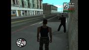 Man Shooting Cop