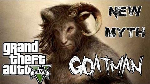 GTA 5 - NEW MYTH Goatman