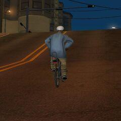 Stealing the bike