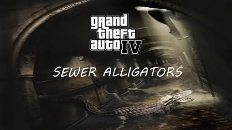 GTA Myths & Legends - Alligators