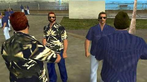 GTA Vice City Pedestrian Quotes Vercetti Gang