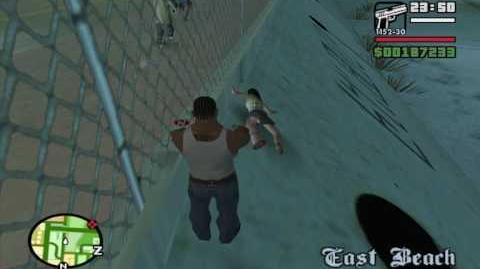 San Andreas - Invincible Pedestrian
