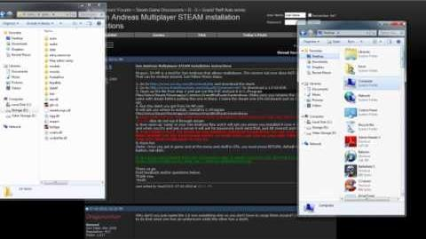 How to play GTA San Andreas steam version online (Samp)