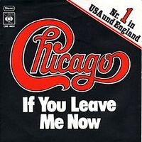 Chicago-IfYouLeaveMeNow