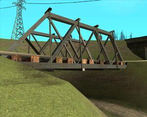 12. Мост над проселочной дорогой. Округ Флинт