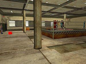 Below the Belt Gym GTA San Andreas (intérieur)