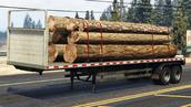 Trailer de troncos