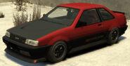 Futo (variante GT) GTA IV (vue avant)
