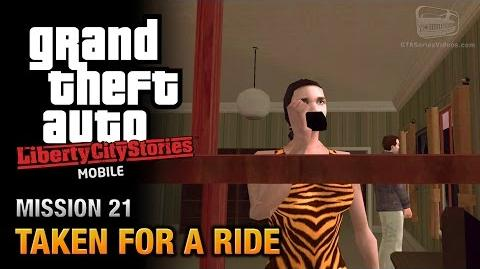GTA Liberty City Stories Mobile - Mission 21 - Taken for a Ride