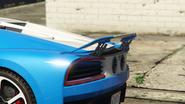 Nero avec aileron activé pendant freinage