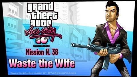 GTA Vice City - iPad Walkthrough - Mission 38 - Waste the Wife
