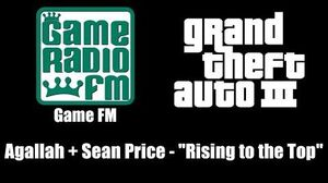 "GTA III (GTA 3) - Game FM Agallah Sean Price - ""Rising to the Top"""