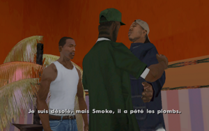 Beat Down on B Dup GTA San Andreas (aveux)