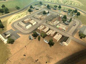 El Quebrados GTA San Andreas (vue aérienne 2)