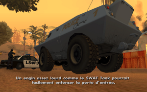 End of the Line GTA San Andreas (S.W.A.T.)