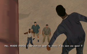 Madd Dogg (mission) GTA San Andreas (surprise)