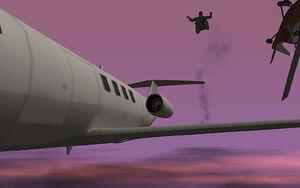 Freefall GTA San Andreas (saut)