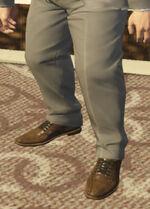 Ponsonbys (V - Grafitowe buty skórzane)